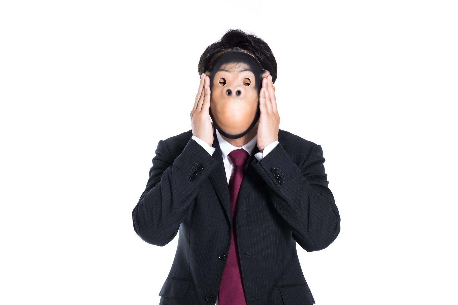 夫婦別生 マスク ゴリラ 仮面